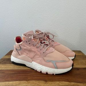 Adidas Nite Jogger 3M Pink Sneakers Running Shoes